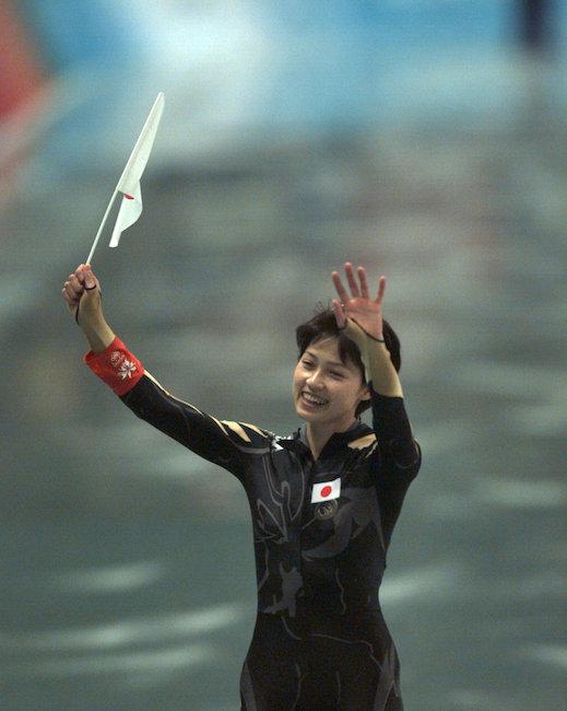 長野オリンピックスピードスケート銅メダリスト 岡崎朋美
