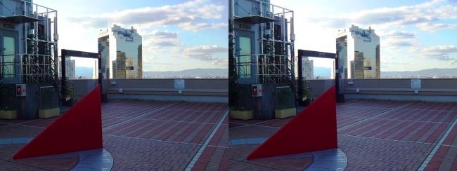 大阪ステーションシティ 風の広場2017.10.8④(平行法)