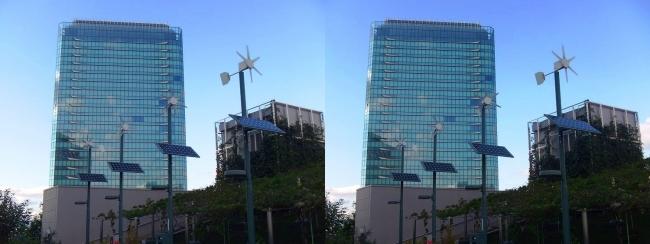 大阪ステーションシティ 風の広場2017.10.8②(交差法)