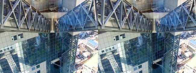 梅田スカイビル空中庭園展望台2017.10.8⑤(平行法)
