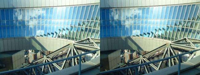 梅田スカイビル空中庭園展望台2017.10.8④(交差法)