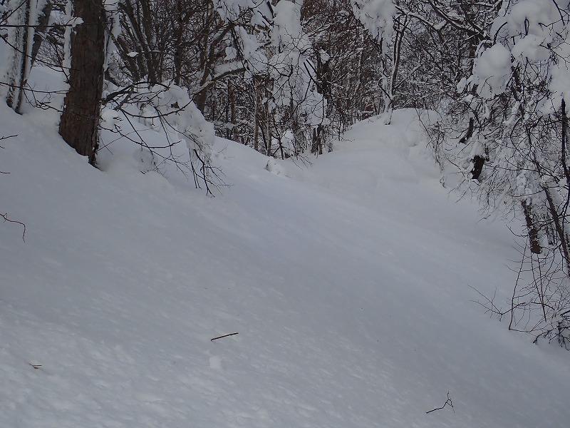 三又山雪庇