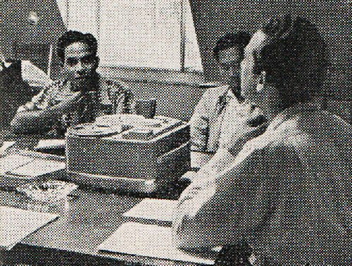 03 500 1957 English practice with taperecorder