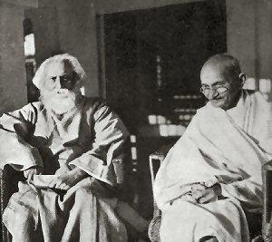 09 300 Tagore Gandhi