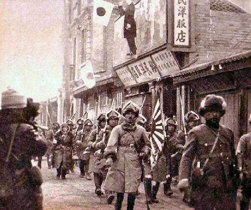 08 500 満州事変 錦州の日本軍