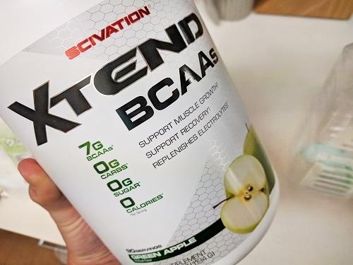 『XTEND購入』トレーニング時にBCAAを効率よく補給する