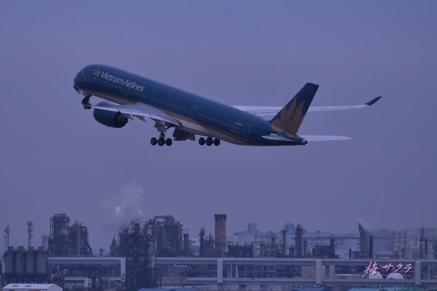 夜の飛行機撮影2変更済