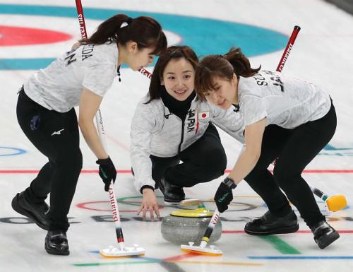 カーリング女子日本の準決勝試合開始時間は何時からと平昌オリンピックテレビ放送予定画像[1]