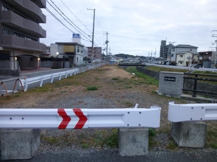 侵入防止柵の撤去
