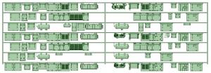 KD13-01 13022F7連【武蔵模型工房 Nゲージ 鉄道模型】