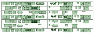 KD13-02 13023F7連【武蔵模型工房 Nゲージ 鉄道模型】