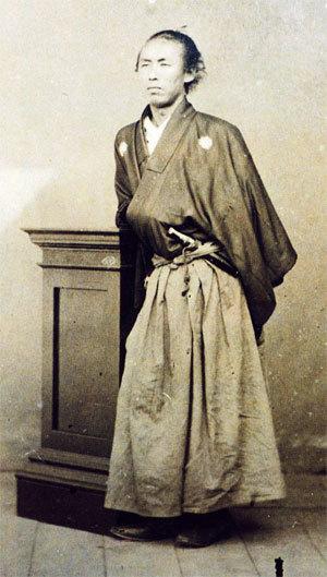 龍馬肖像画