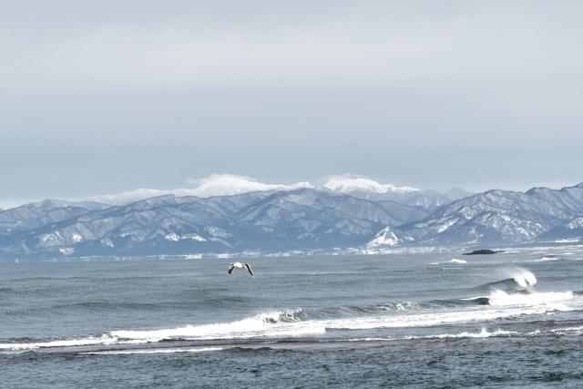 白神岳 米代川河口2017123100007