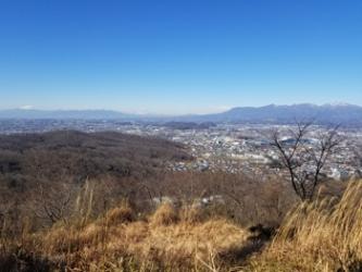 茶臼山山頂からの展望1