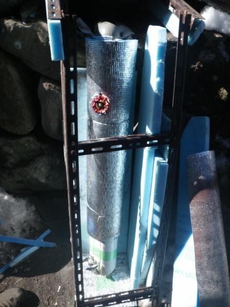 元栓の凍結防止