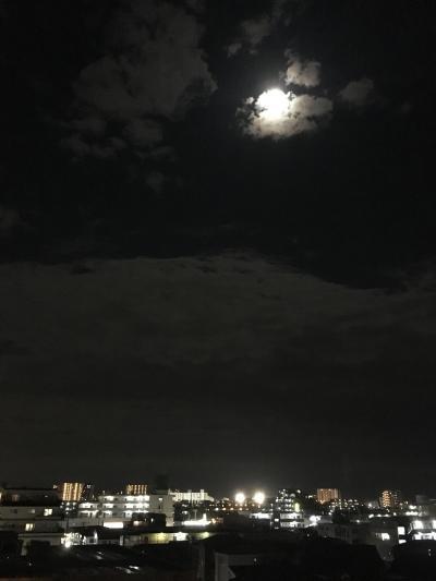 2017.10.4中秋の名月1