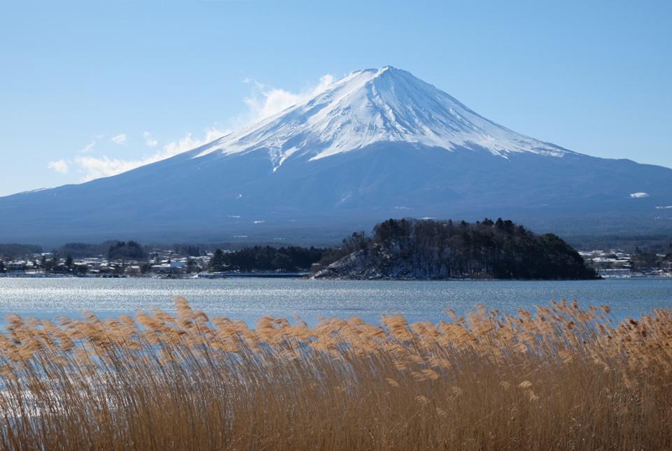 0593 河口湖からの富士 960×645