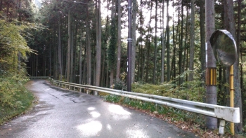 天川への道