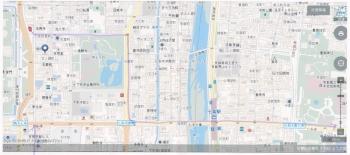 地図 京博へ