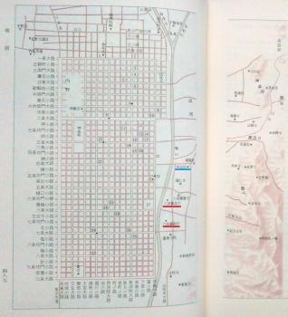 小学館新編日本古典文学全集『太平記』④より六波羅探題の場所