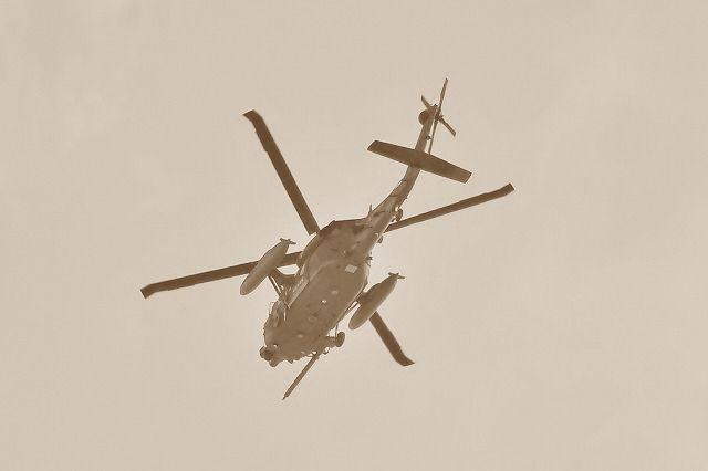 航空自衛隊救難ヘリUH60-J