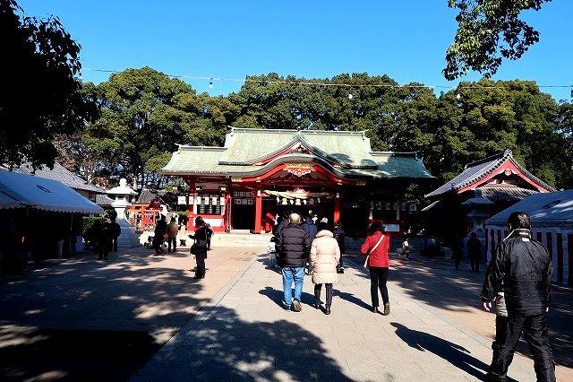 遅い初詣 春日神社
