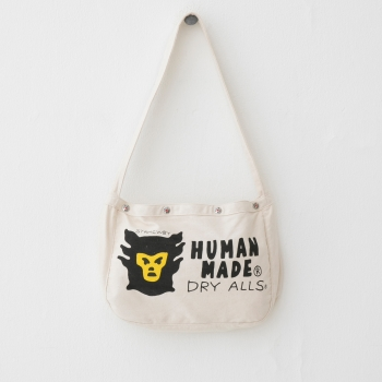 HM15-GD-001 CANVAS MINI NEWS PAPER BAG WH-A