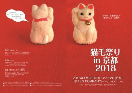 猫毛祭りin京都2018_1☆