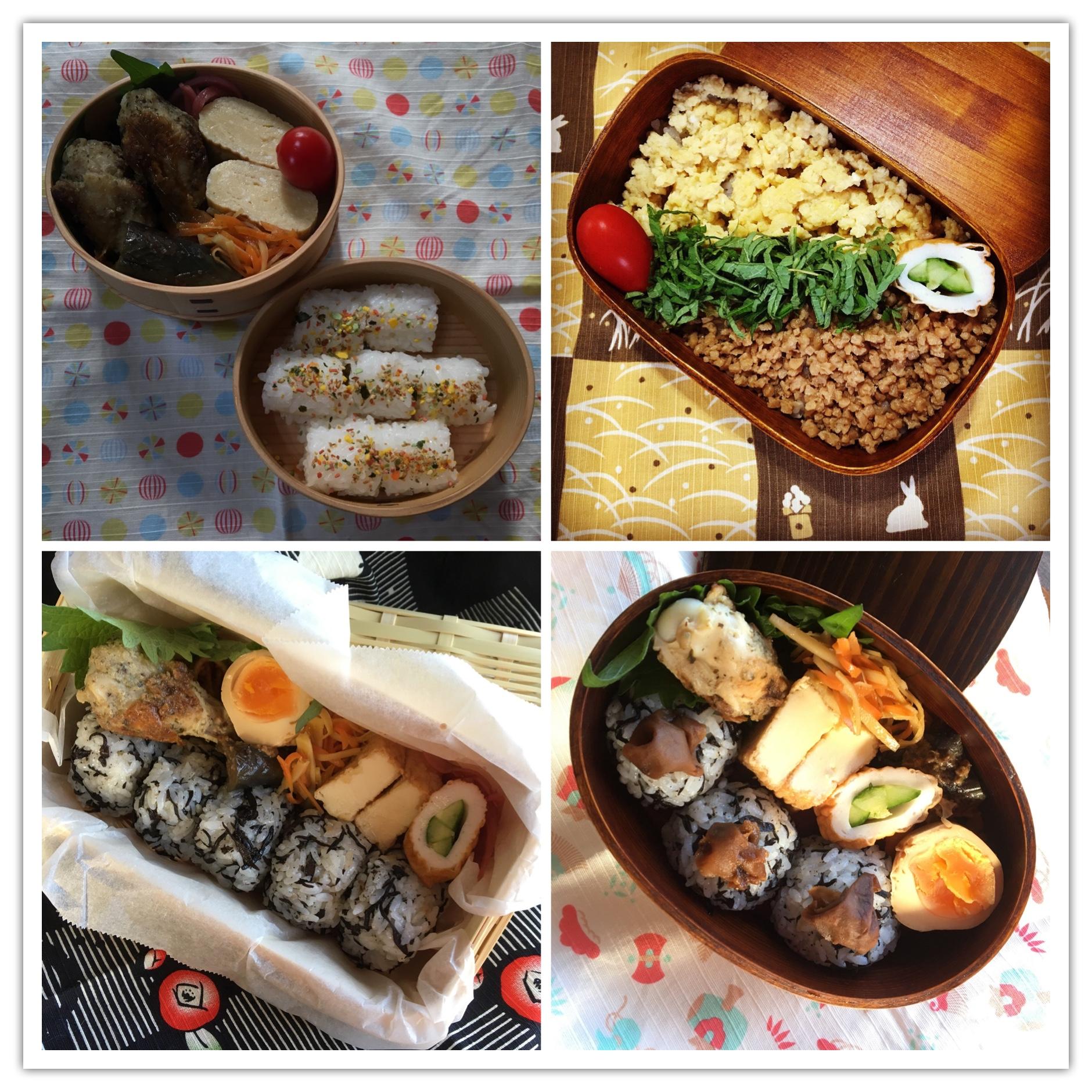 お弁当達201711_3☆
