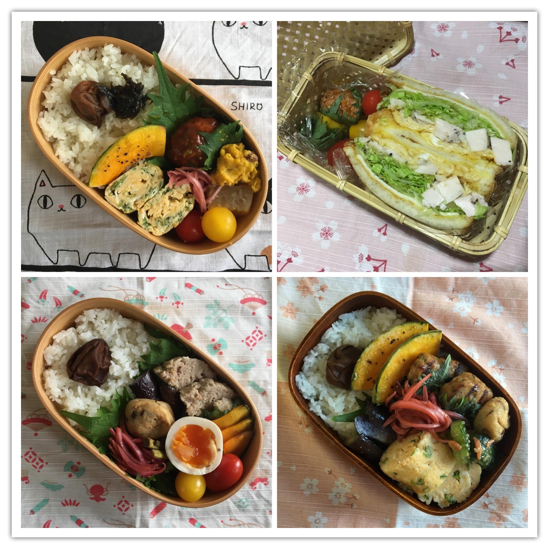 お弁当達201712_1☆