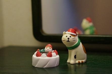 クリスマスケーキと
