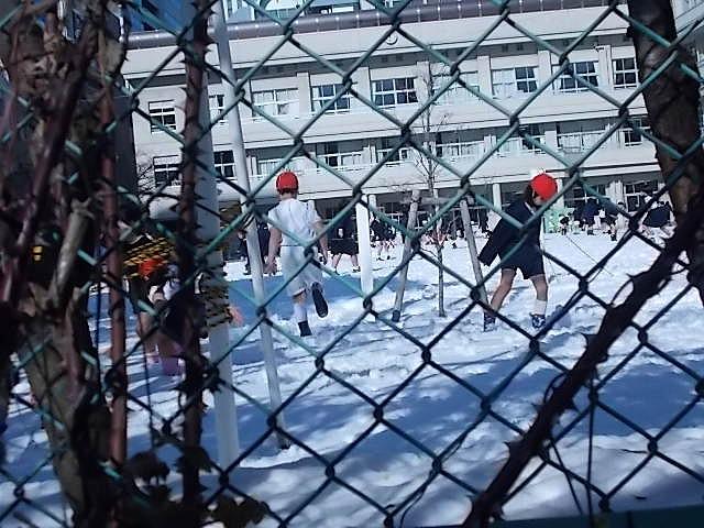 雪の日小学校DSCN0602