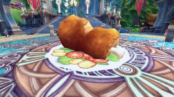ハンティングアクションオンラインゲーム『ハンターヒーロー』 竜族たちに豪勢な料理を振舞うイベント「竜族たちの満漢全席」を開催したよ~!!
