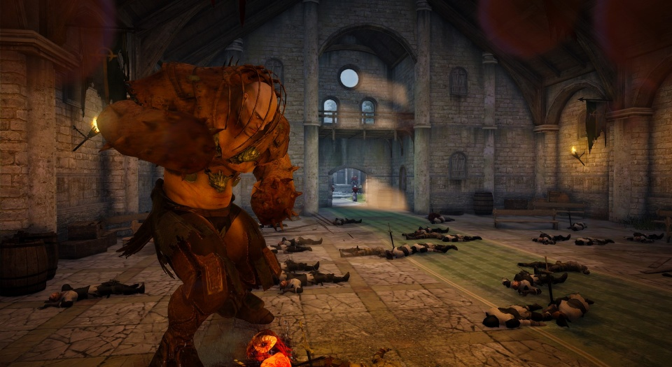 基本プレイ無料のノンターゲティングアクションRPG『黒い砂漠』 希少アイテムを獲得できる新ギルドレイドボス「狂気のマスカン」を実装したよ~!!