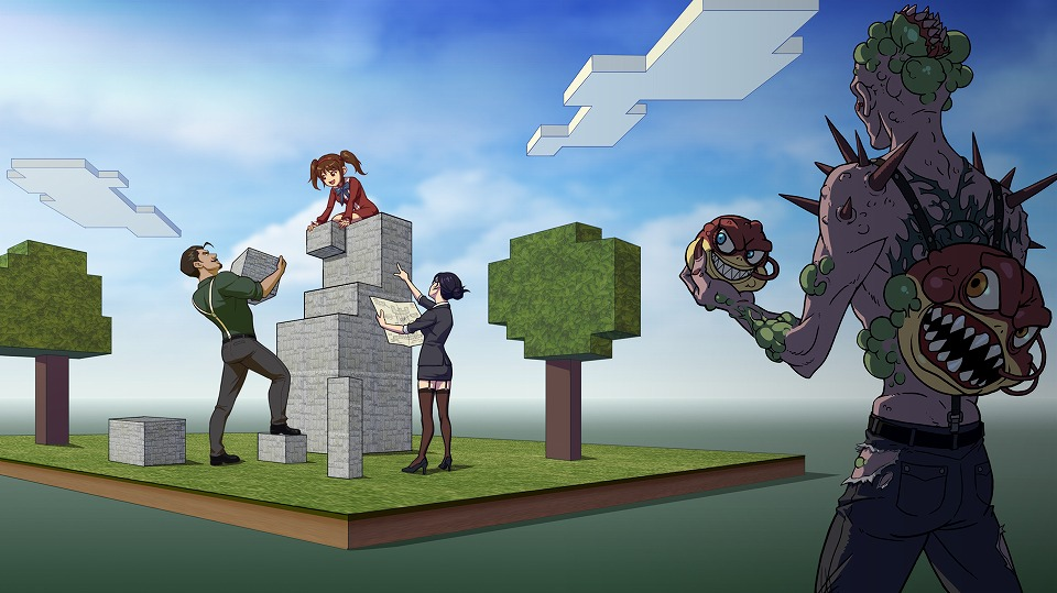 FPSオンラインゲーム『カウンターストライクオンライン』 スタジオモードに新たな機能とブロックを追加したぞ~!!