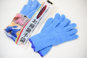 マイクロファイバーお掃除手袋2