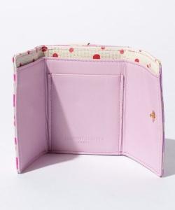 ミックスプリントミニ財布