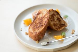 フレンチトースト(米粉パン)