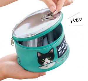おなかがすいてきちゃうにゃん! お魚猫缶ポーチの会