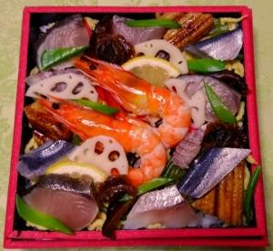 ばら寿司2-201712