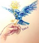 繡嵐‧袖藍