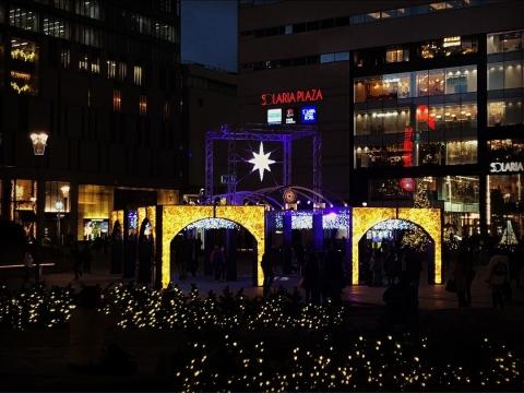 クリスマスモニュメント