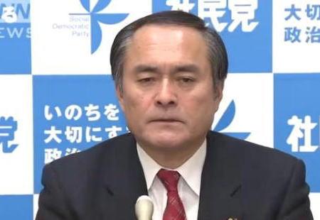 社民党 党首選 泡沫政党 吉田忠智