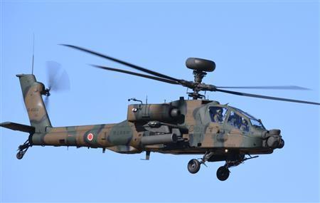 陸上自衛隊 ヘリ 墜落 AH64 アパッチ 佐賀