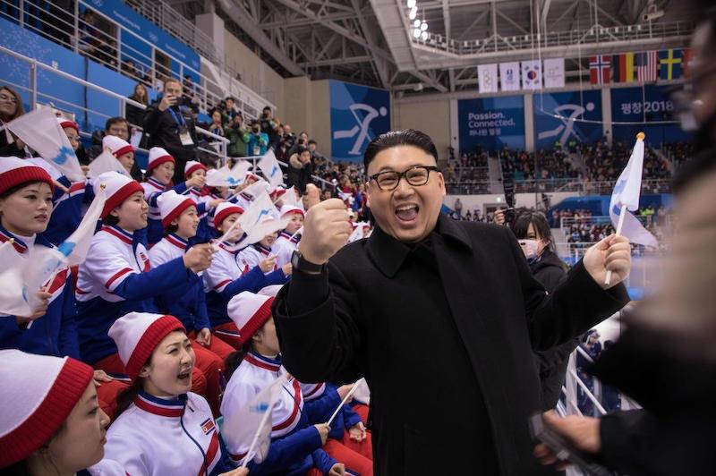 金正恩 平昌五輪 北朝鮮 そっくりさん