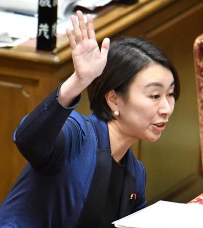 山尾志桜里 待機児童 衆院予算委員会 立憲民主党
