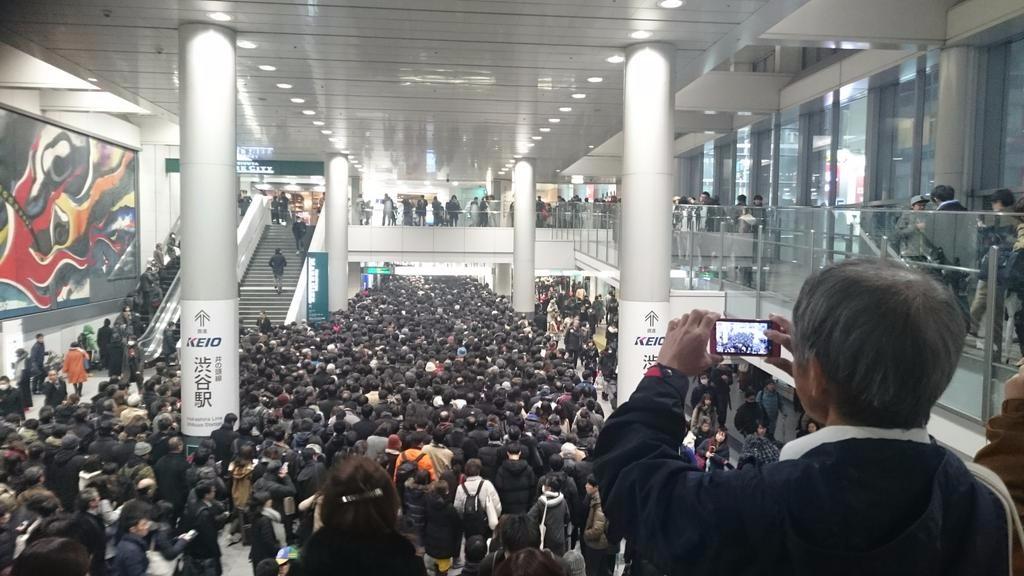大雪 東京 渋谷 入場規制 人口 積雪 交通網