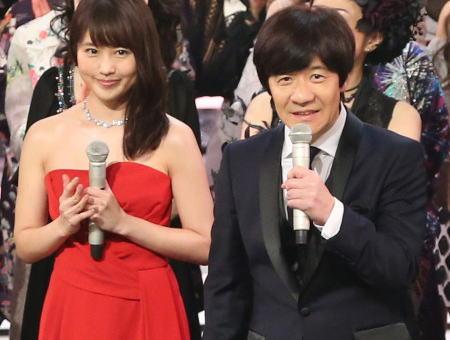 NHK 紅白歌合戦 内村光良 有村架純 二宮和也 桑子真帆 視聴率