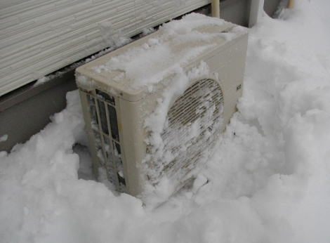 「たすけて!雪が降って寒いのにエアコンが効かないの どうして!?」 ツイッターに相次いでSOS