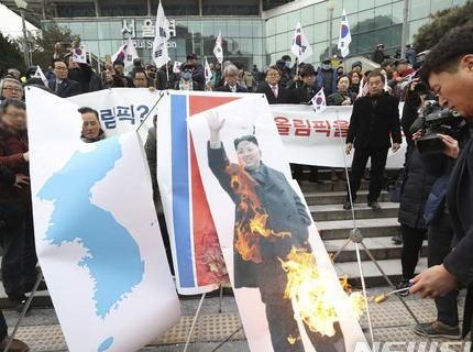 北朝鮮、平昌五輪への参加撤回を示唆 … 韓国の反北集会で金正恩の写真や北朝鮮国旗を燃やされたことに憤慨 「平昌五輪に関連した今後の行事も慎重に検討せざるを得ない」